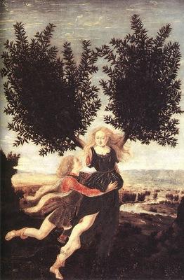 Pollaiolo Apollo e Dafne