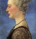 pollaiolo ritratto di giovane donna