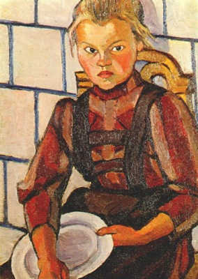 popova portrait of the artists sister 1908