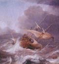 porcellis dutch ships in a gale c1620