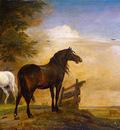 Potter Paulus Two horses Sun