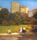 potthast in central park c1915