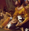 POUSSINTHE ADORATION OF THE GOLDEN CALF 1633 35 DETAIL 2 NG