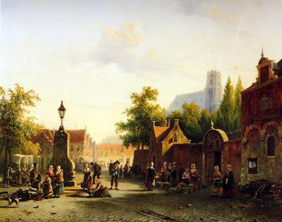 Praag van Alexander View on Leiden Sun
