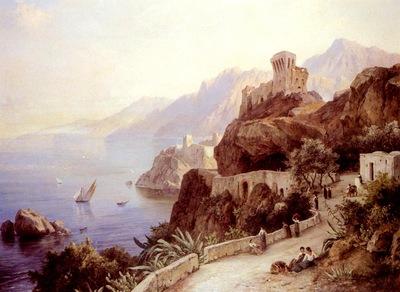 Preller Friedrich The Bay Of Salerno
