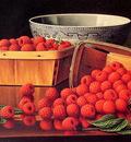 Baskets of Raspberries