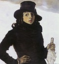 am Tadeusz Pruszkowski Portrait of the Artists Wife
