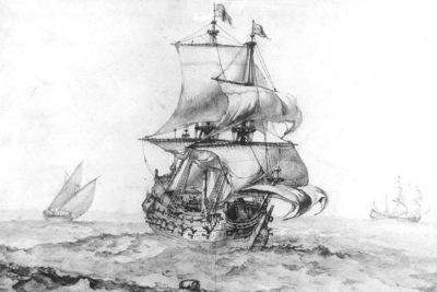 Puget Great Vessel of War
