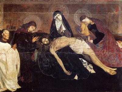 Quarton Enguerrand The Pieta Of Villeneuve Les Avignon