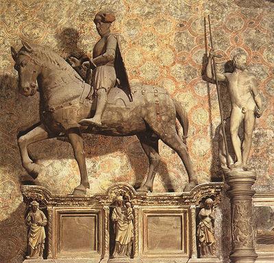 Quercia Jacopo della Equestrian monument to Paolo Savelli
