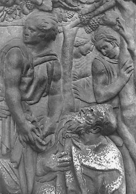 Quercia Jacopo della L ebbrezza di Noe