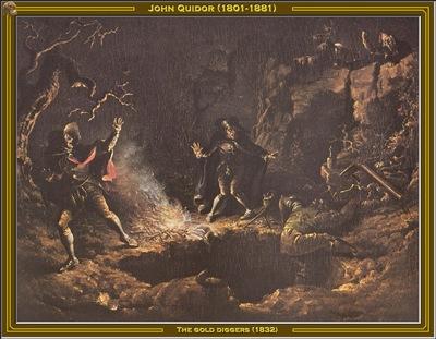 john quidor the gold diggers 1832 po amp
