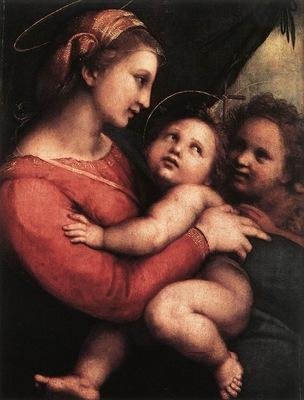 Raffaello Madonna della Tenda