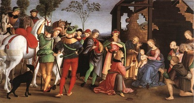 Raffaello The Adoration of the Magi
