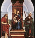 Raffaello Madonna and Child The Ansidei Altarpiece