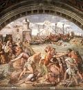 Raffaello Stanze Vaticane The Battle of Ostia