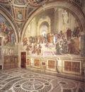 Raffaello Stanze Vaticane View of the Stanza della Segnatura