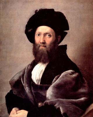 Portrait of Baldassare Castiglione