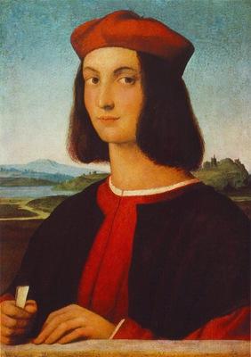 Raffaello Portrait of Pietro Bembo, 1504 06, 54x69 cm, Museu