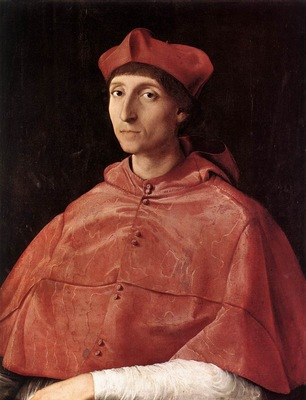 Raffaello Portrait of a Cardinal
