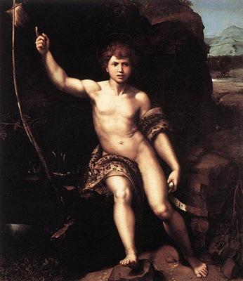 Raffaello St John the Baptist