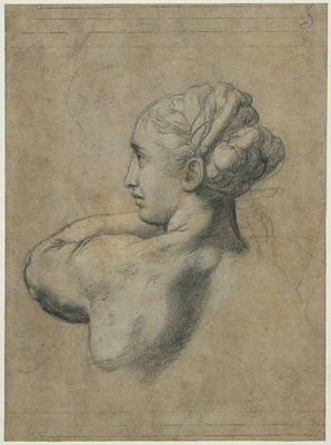 Raphael Head of a Woman