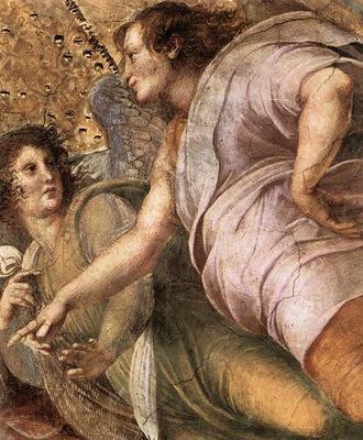 Raphael La Disputa detail6
