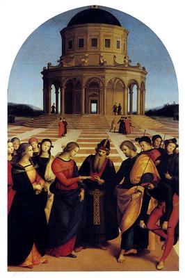 Raphael Marriage Of The Virgin