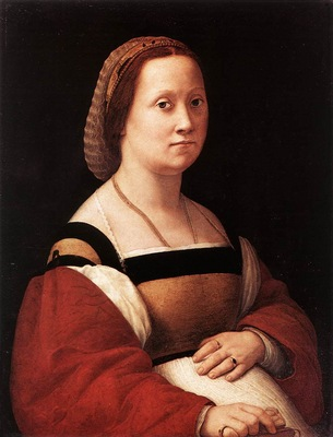 Raphael Portrait of a Woman La Donna Gravida
