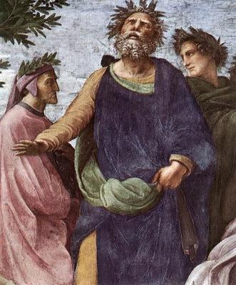 Raphael The Parnassus detail7