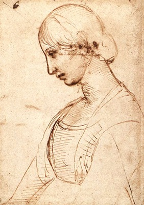 Raphael Waist length Figure of a Young Woman