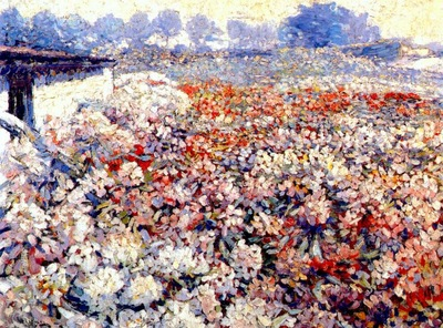 raphael rhododendron field 1910s