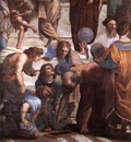 Raffaello Stanze Vaticane The School of Athens detail [03]