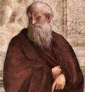 Raffaello Stanze Vaticane The School of Athens detail [06]