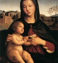 Raphael Madonna and Child c1503