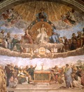 The Dispute of the Holy Sacrament, Raphael, 1511 1600x1200