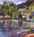 raphael old mill pond c1918