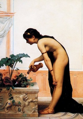 Auguste Raynaud LArrosage du Jardin, De