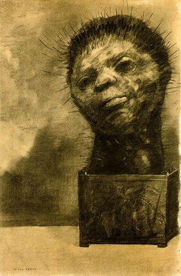 Redon Cactus man, 1881, Charcoal, 49 5x32 5 The Woodner Fami