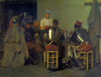 Cuirassiers at the Tavern