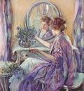 reid the violet kimono