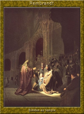 PO Vp S1 59 Rembrandt Simeon au temple