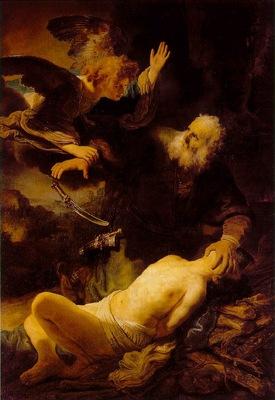 rembrandt abraham and isaac 1635 eremitaget bredius