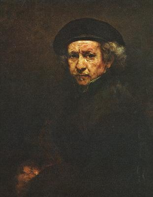 REMBRANDT SELF PORTRAIT 1659 NG WASHINGTON
