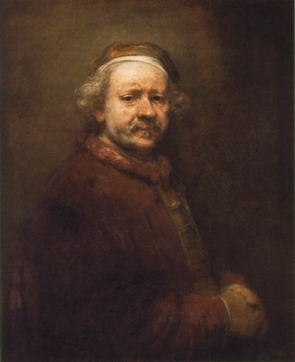 REMBRANDT SELFPORTRAIT 1669 NG LONDON
