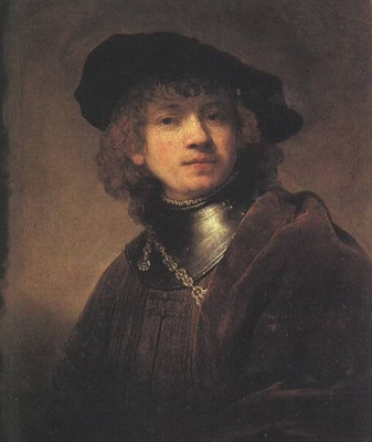 REMBRANDT Selfportrait 1634, Uffizi