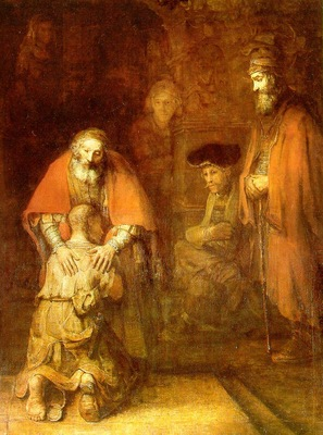 REMBRANDT THE RETURN OF THE PRODIGAL SON CA 1662 EREMITAGET