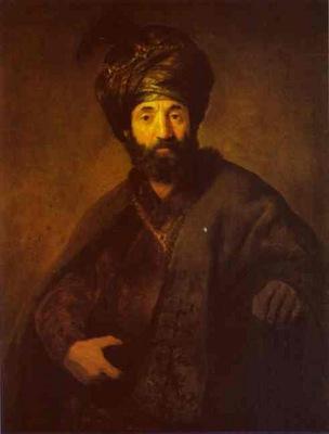 Rembrandt A Turk