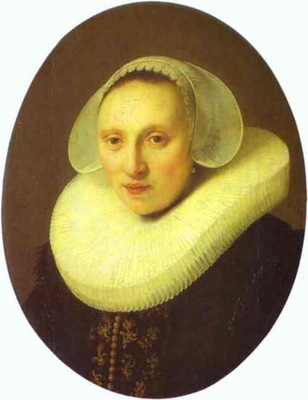 Rembrandt Cornelia Pronck, Wife of Albert Cuyper