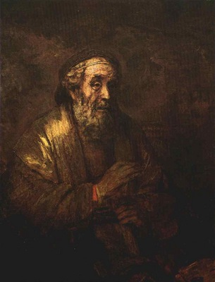 Rembrandt Homer, 1663, Royal Picture Gallery, The Hague